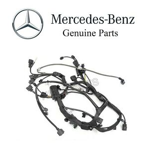new mercedes w203 c230 2003 2005 engine wiring harness genuine 271 rh ebay com mercedes-benz w203 auxiliary input wiring harness mercedes w203 radio wire harness