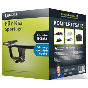 Anhängerkupplung starr für KIA Sportage NEU inkl EBA E-Satz KIT kpl