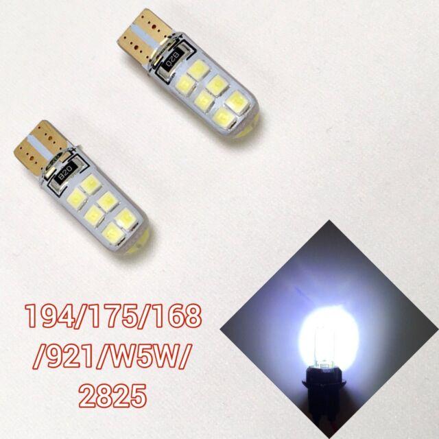 T10 168 194 2827 12961 6K LED Front Corner 3rd Brake Light