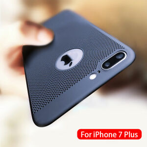 Ultra-thin-Shockproof-Case-Breathing-Mesh-Hole-Cover-For-iPhone-6-7-8Plus-XS-MAX
