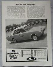 1964 Ford Consul Corsair GT Original advert