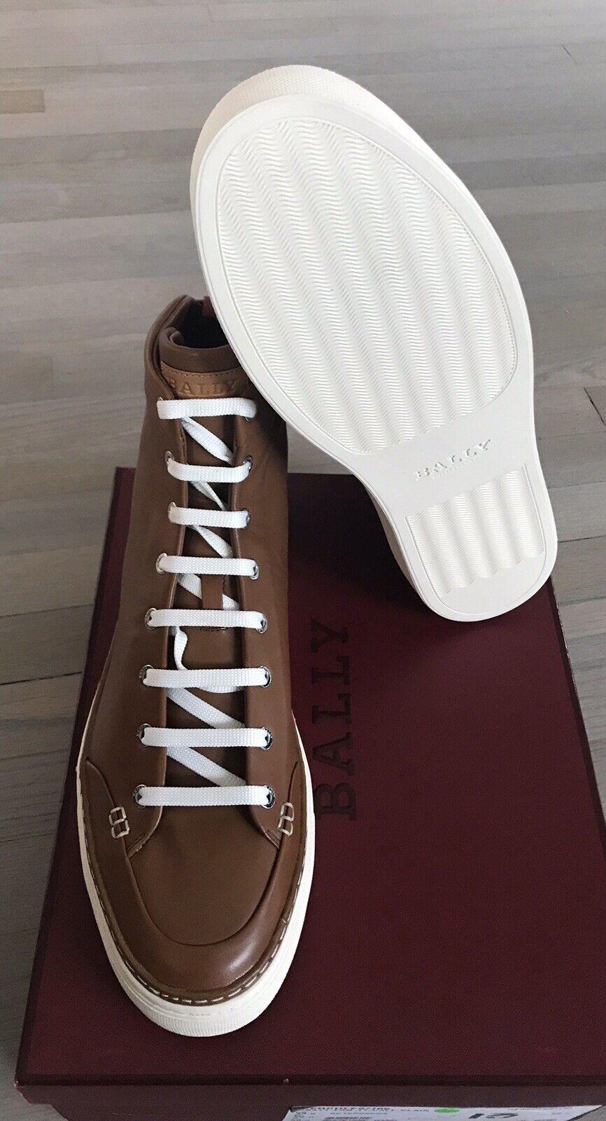 680  Bally Hercules khaki Leather High Tops scarpe da da da ginnastica Dimensione US 13 1d28e6