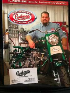 Dennis Carpenter Cushman Motor Scooter Restoration Parts Catalogue