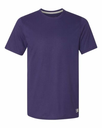 Men/'s Essential Blend Performance Tee Sports T-Shirt S-3XL Russell Athletic