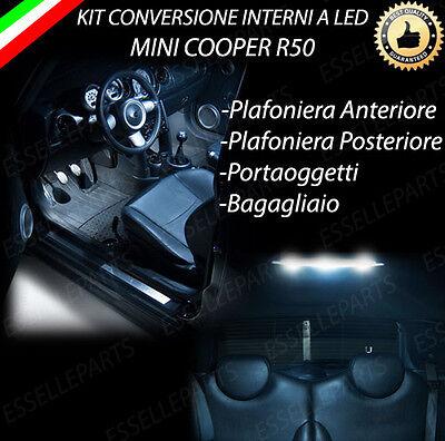 BAGAGLIAIO CANBUS KIT LED INTERNI SEAT LEON 5F PLAFONIERA ANT POST PORTAOG