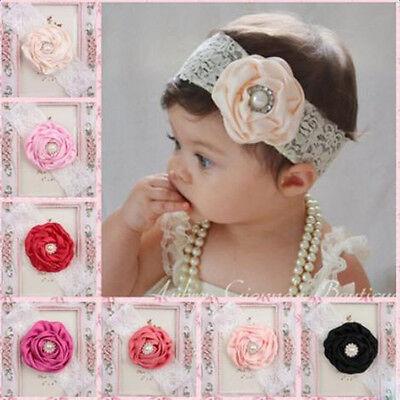 Infant Toddler Baby Band Flower Headband Newborn Hair Kids Hair Accessories lot