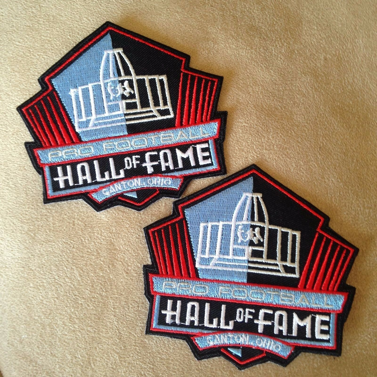 separation shoes 90dd8 e71a0 2 - NFL Pro Football Hall of Fame Canton Ohio Logo Iron-on Jersey/jacket  Patches