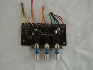 Onkyo-TX-6500-MKII-Filter-Select-Switch-Taken-From-Working-Unit