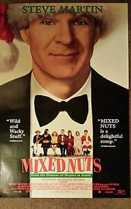 1994-Mixed-Nuts-27-X-40-Movie-Poster-Steve-Martin-Comedy