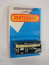 Matchbox London Bus, Green, 1982 Chesterfield Transport MB-17