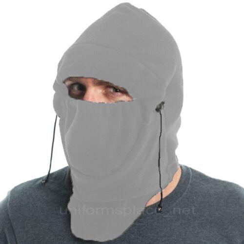 Dickies Hats Men/'s Fitted Balaclava Polar Fleece Ski Face Mask Beani Black Gray
