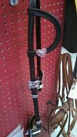 One Ear Bridle With Bling By True North