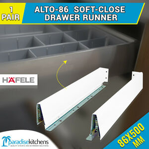 Image Is Loading 1 X Alto 86 Drawer Runners Kitchen Vanity