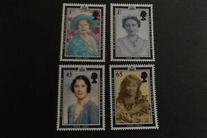 GB-Gomma-integra-non-linguellato-Stamp-Set-2002-Regina-Madre-SG-2280-2283-UMM