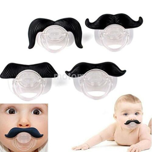 Cute Baby Funny Dummy Prank Pacifier Novelty Teeth Children Child Soother New