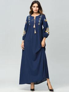 Muslim-Women-Embroidery-Dresses-Abaya-Vintage-Maxi-Cocktail-Dress-Jilbab-Robe