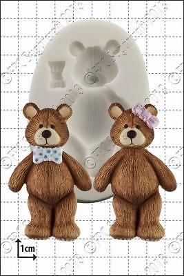 Silicone mould Teddy | Food Use FPC Sugarcraft FREE UK shipping!