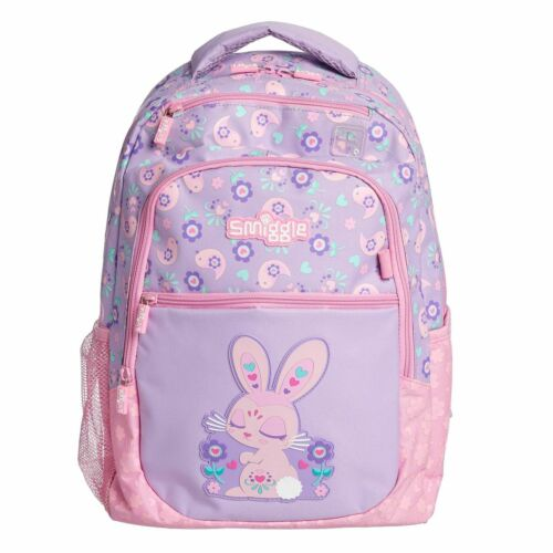 ❤ NEW Girls SMIGGLE Backpack School Bag Rucksack Fluffy Fave Unicorn Deja Vu UK