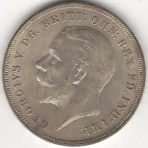 1935-George-V-Crown-Silver-British-Coins-Pennies2Pounds