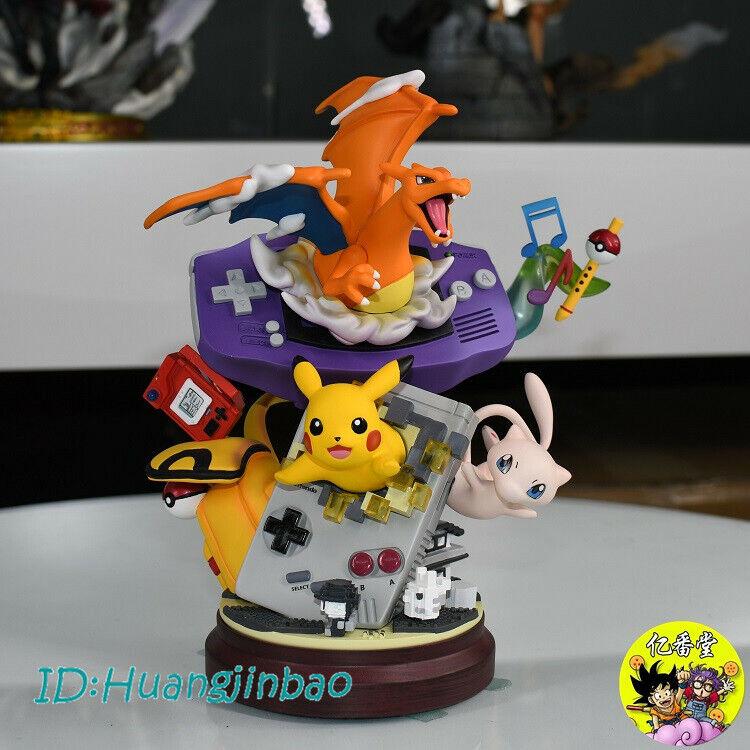 MFC Studio Charizard Pikachu estatua Pintada Modelo Anime GK Colección En Stock