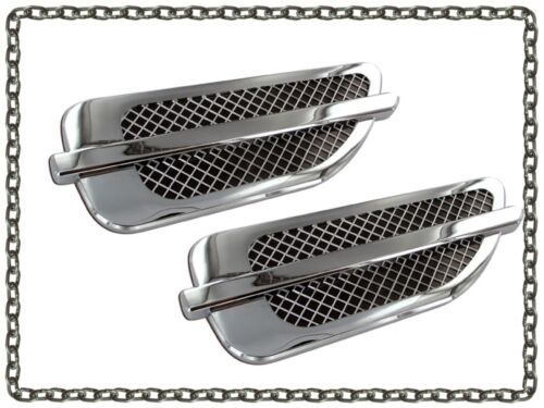Cadillac Escalade style fender vents universal port hole trim