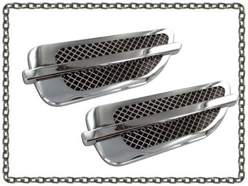 Cadillac Escalade style fender vents universal port hole trim