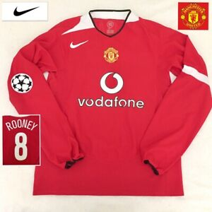 90316521a Image is loading Manchester-United-Football-Shirt-ROONEY-Vintage-Genuine- 2004-