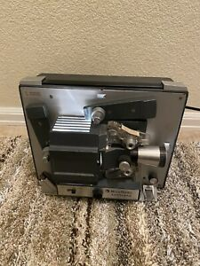 Vintage-BELL-and-HOWELL-AUTOLOAD-Model-357B-Super-8-Film-Movie-Projector-Tested
