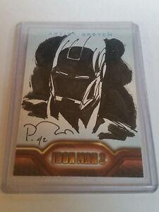 2010-Upper-Deck-Iron-Man-2-Artist-Sketch-1-1-Mark-Pennington