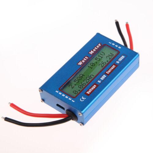 0-100A 4 ~ 60V digitale Meeresströmungsenergie Meter LCD-Display Power Anal