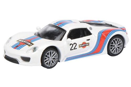 "452628200 Porsche 918 Spyder /""Martini/"" Art.-Nr Schuco H0 1:87"