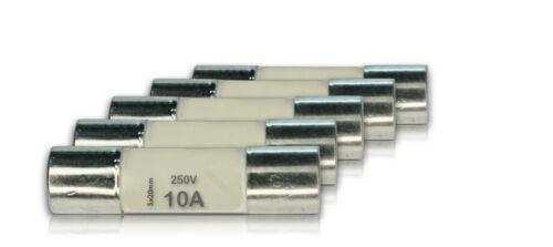 2x 5x 10x Keramik-Feinsicherungen 250V 5x20mm 0,2//0,5A 1A 2A 3A 5A 6A 8A 10A 15A
