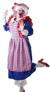 THE-ROYAL-NANNY-UNION-JACK-Pantomime-Dame-COSTUME-Widow-Twanky-Ugly-Sister