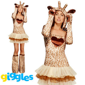 image is loading giraffe costume womens ladies sexy animal safari halloween