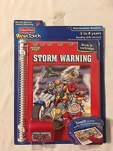 NEW-FISHER-PRICE-POWER-TOUCH-SYSTEM-INT-RESCUE-HEROES-STORM-WARNING-FREE-US-SHIP