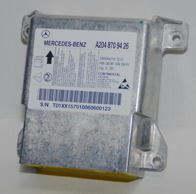 Mercedes W204 A2048709426 A2048706826 A2049013502 A2049012704 Airbag Steuergerät