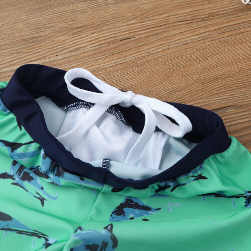 Kids Swimsuit Boys Whale Shark Swimwear Bathing Suit UV 50 Rash Guard Tankini