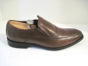 KENNETH COLE MEN'S BLACK LEATHER SLIPPER SIZE  11 1/2 M