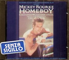 "THE ORIGINAL SOUNDTRACK "" HOMEBOY"" CD NUOVO (MICKEY ROURKE-ERIC CLAPTON 1989)"