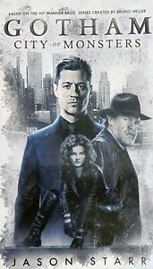 Gotham-City-Of-Monsters-Starr-Jason-Paperback-Softback-Book-NEW