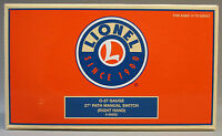 Lionel 027 Gauge 27 Path Manual Right Hand Switch 6-65022