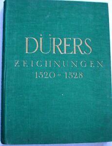 Duerers-Zeichnungen-1520-1528-Band-IV-1939-Skizzenbuch-Federzeichnungen