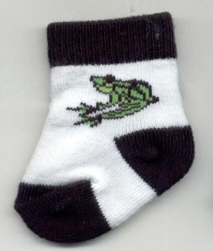 Doll Clothes - Frog Socks -fits 18 Doll