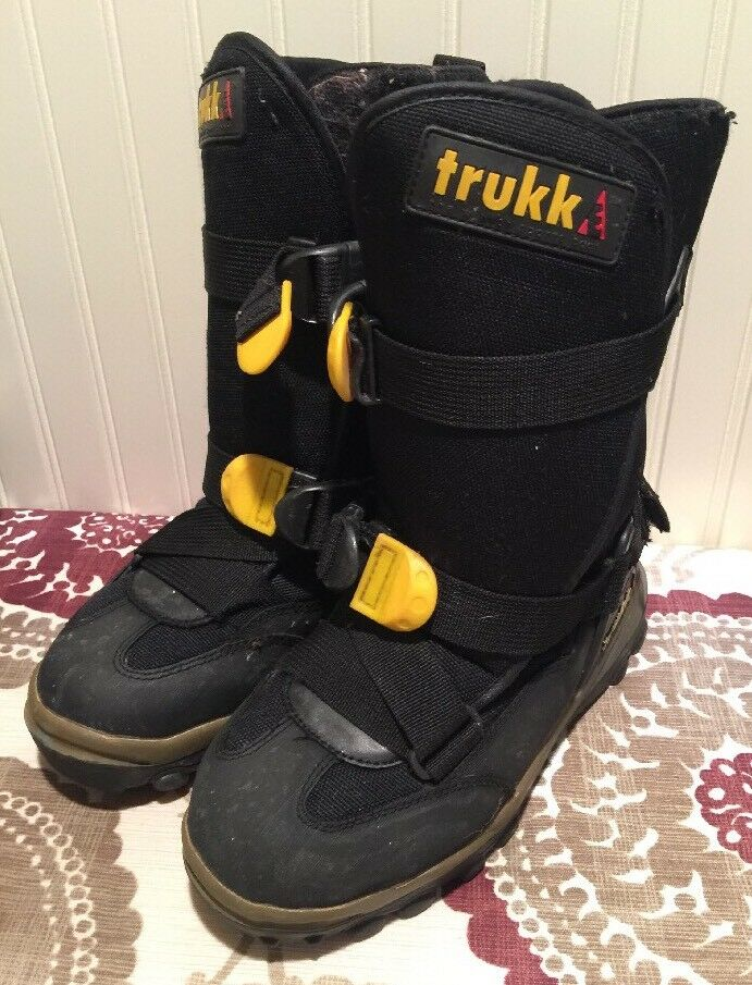 Trukk Winter Sports Snowmobile Boots Mens Size 4 No Liners