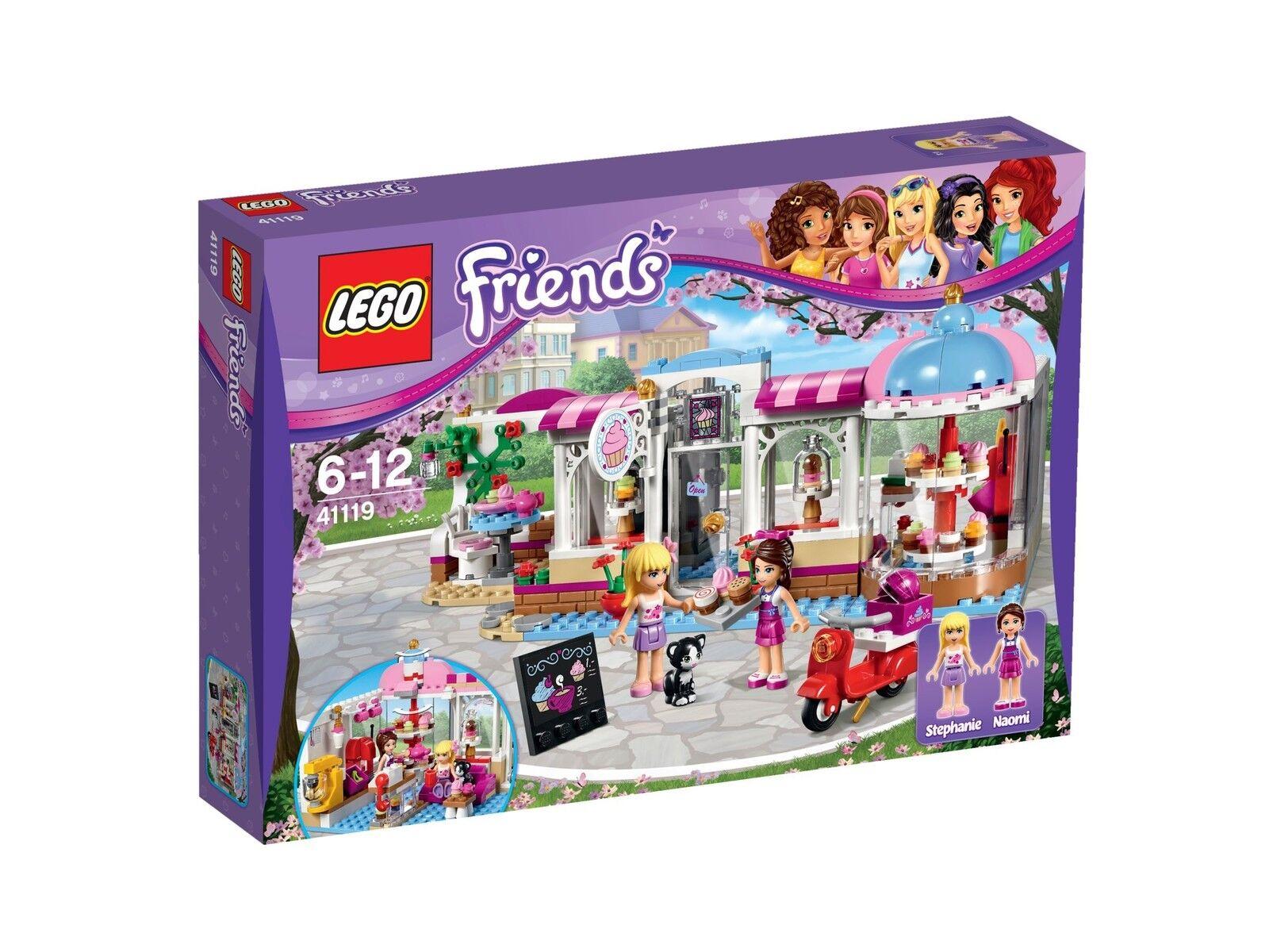 in cerca di agente di vendita LEGO LEGO LEGO Friends 41119  Heartlake Cupcake CAF Misto Heartlake CUPCAKE CAFE Misto  esclusivo