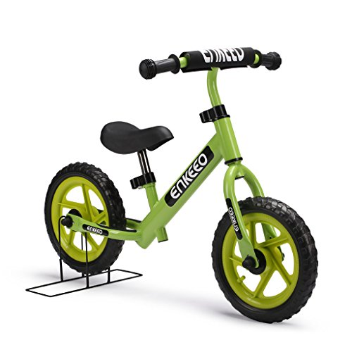 65103fb4515 Enkeeo 12 Inch Balance Bike No Pedal for 2-6 Year Old Kids Carbon ...