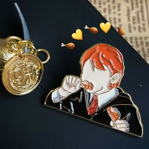 Harry Lucius Draco Hermione Ron Draco Malfoy Party Badge Brooch Pin Limited N