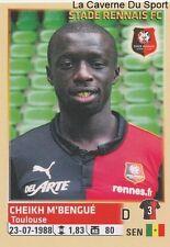 418 CHEIKH M'BENGUE SENEGAL STADE RENNAIS.FC STICKER FOOTBALL 2015 PANINI ~