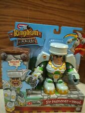 New Free shipping Kingdom Builders Sir Hammer of Head Turns Into A Hammer A1