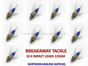 Pack of 5 Breakaway Tackle NEW Impact Flatty Lead Weights 85g